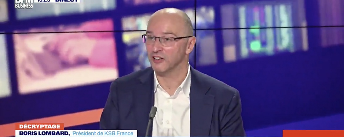 Boris Lombard explique comment KSB France gère ce second confinement